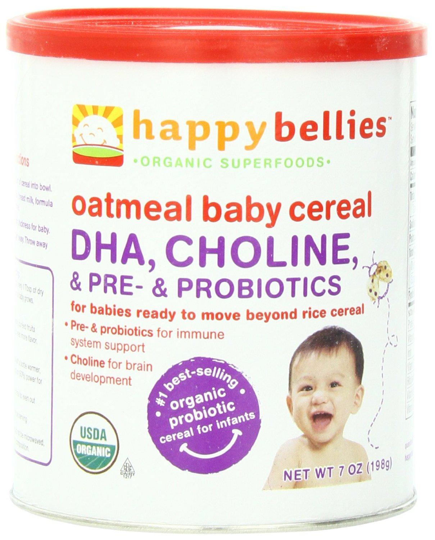 happy baby 禧贝婴儿3段混合谷物有机米粉6罐特价$16.26 ,S&S后$15.45