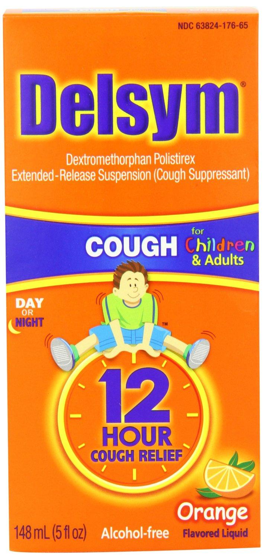 史低~Delsym儿童版12小时长效止咳糖浆橙味148ml原价$21.71现特价$4.99