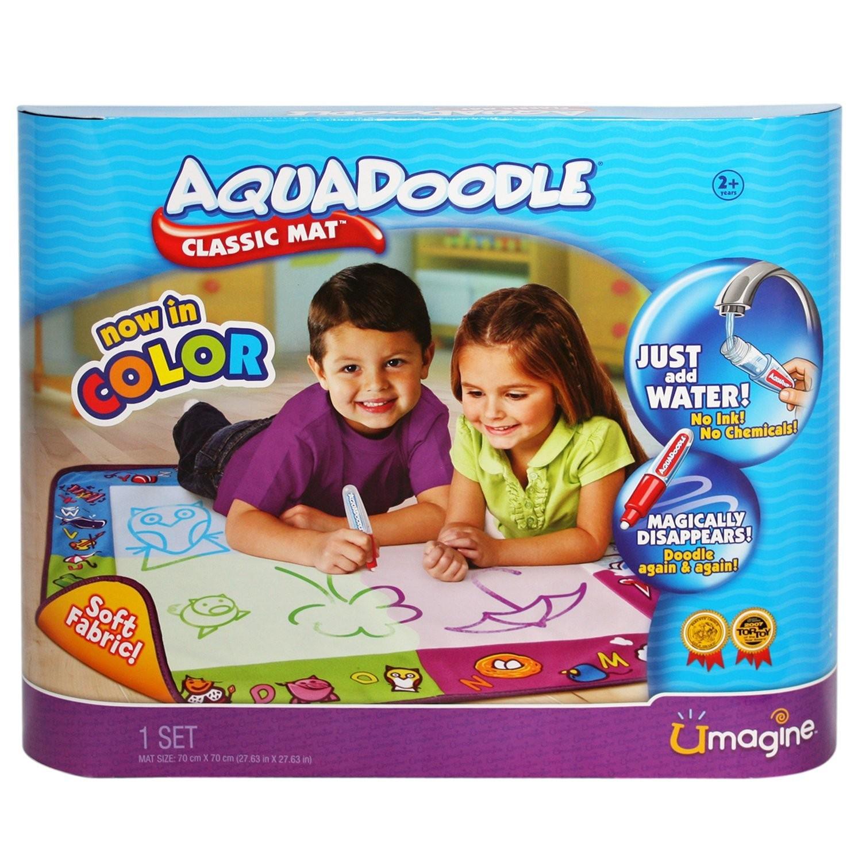 Amazon:让小画家们尽情涂鸦!AquaDoodle 水魔法神奇画布/绘画毯