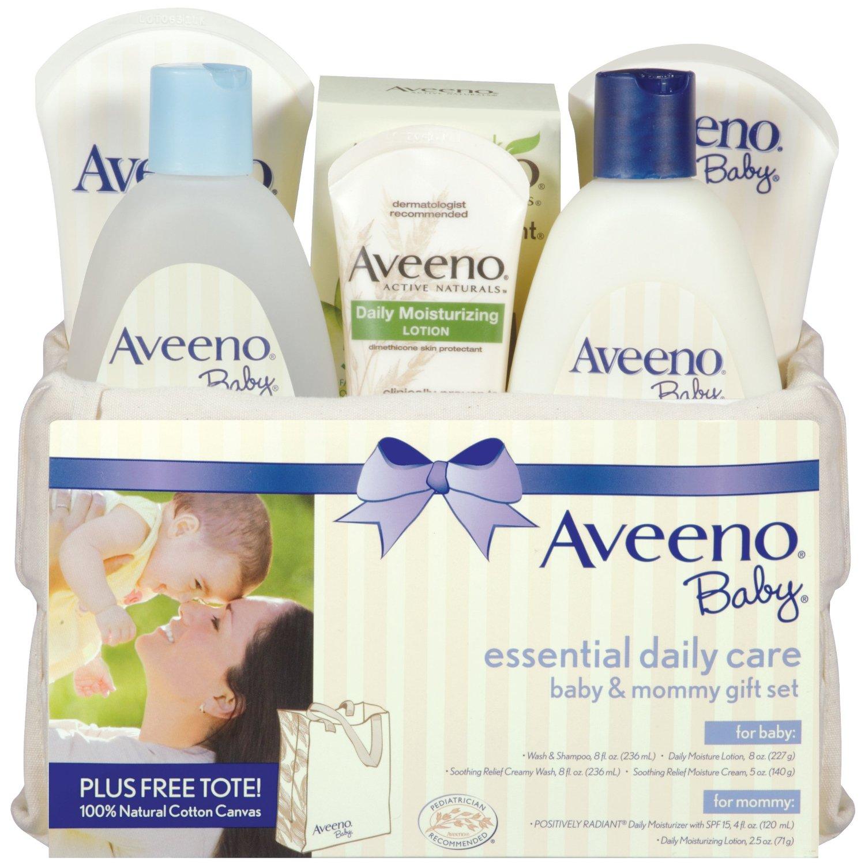 降价啦!Aveeno艾维诺妈妈和宝宝日常洗浴护理7件套套装原价$30,现