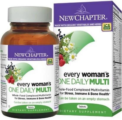 新章40岁以下女性每日1粒综合维生素72片特价$29.75-$5coupon+ S&S后实付$23.26