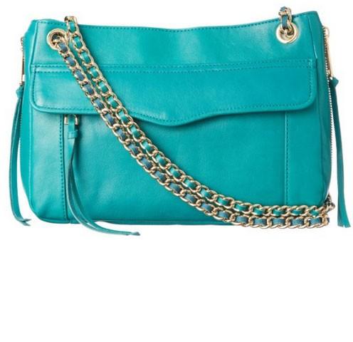 Amazon:Rebecca Minkoff 瑞贝卡·明可弗 Swing Convertible Shoulder Bag