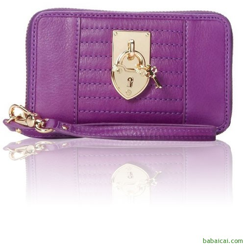 Amazon:Juicy Couture橘滋 Signature女士小手包$49.13 心、锁子、钥匙