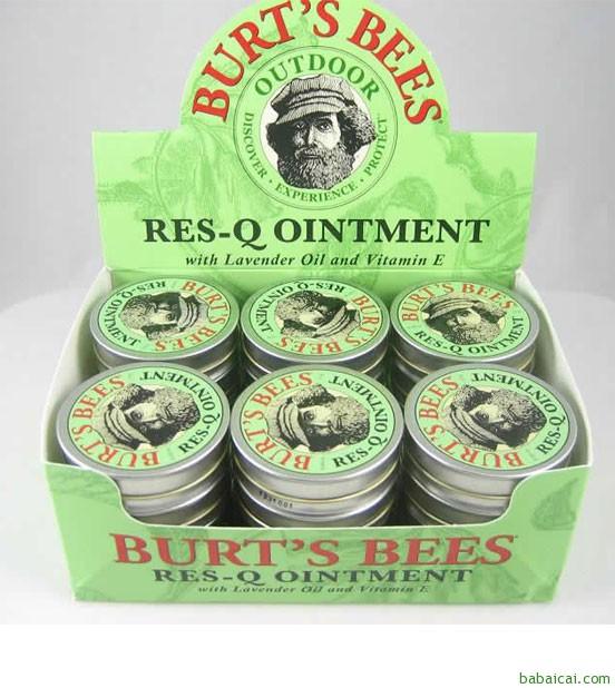 Amazon:Burt's Bees 小蜜蜂 神奇紫草膏15克 $4.79 到手¥35