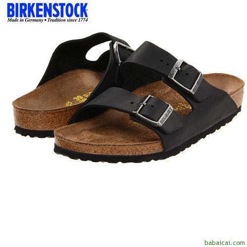 Amazon:Birkenstock德国勃肯软木鞋底中性款凉鞋