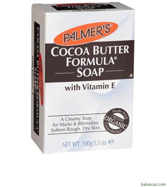 Amazon:Palmer's 帕玛氏天然可可脂VE洁肤皂3.5oz*12块S&S后$23.53