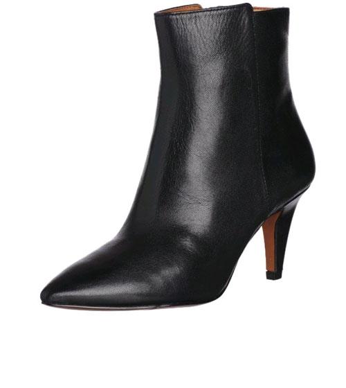 Amazon:Nine West Women's Junia Bootie 女士中跟短靴 $52.99
