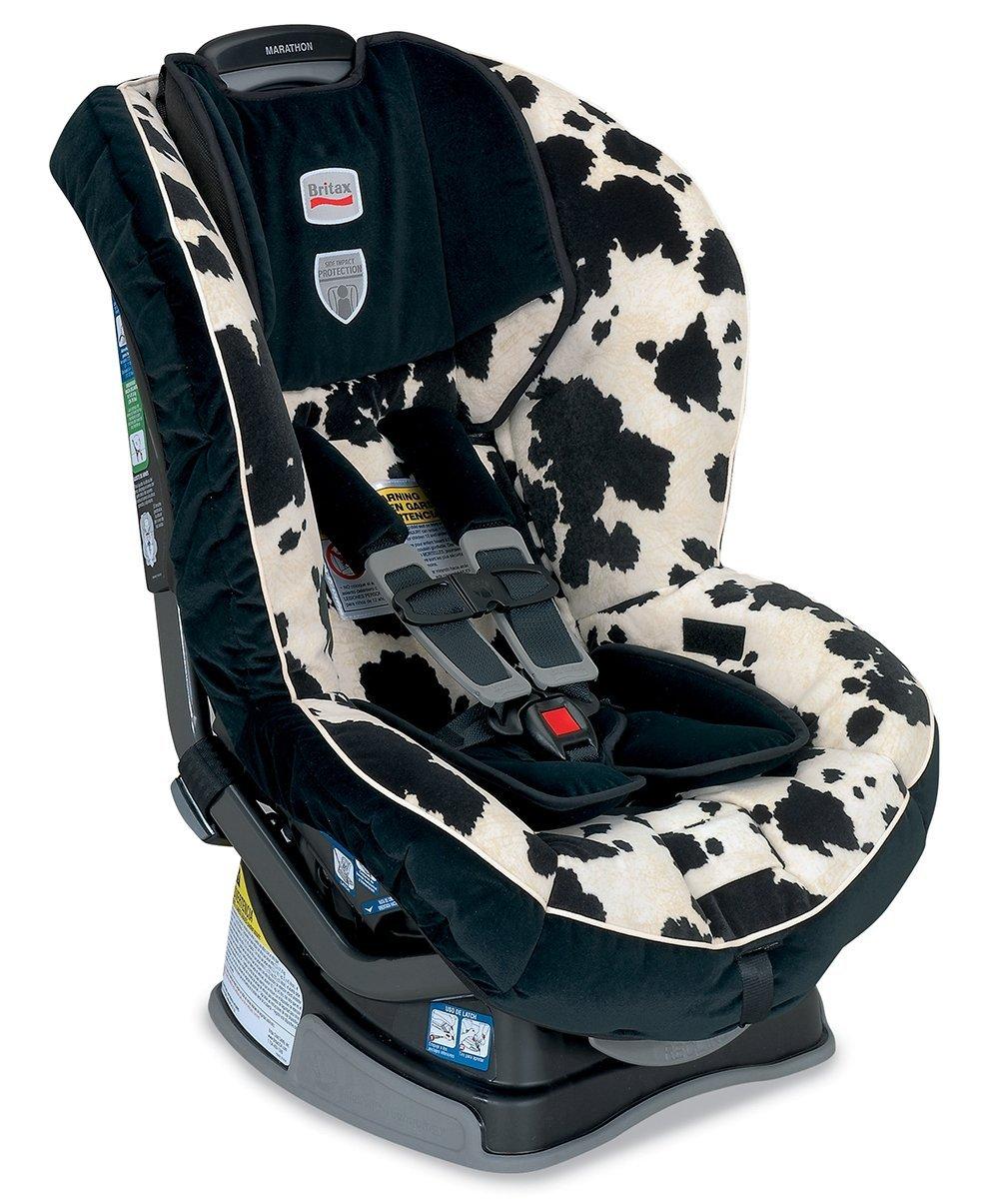 Britax Marathon G4童汽车安全座椅奶牛款特价$207.21结账输入85折优惠码后$176