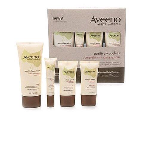 Aveeno Positively Ageless Complete Starter 抗衰老精华四件套