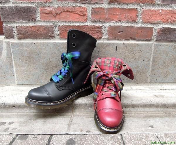 Dr. Martens 女士可翻折两穿马丁靴特价$96.82 鞋服新人8折后$77.46