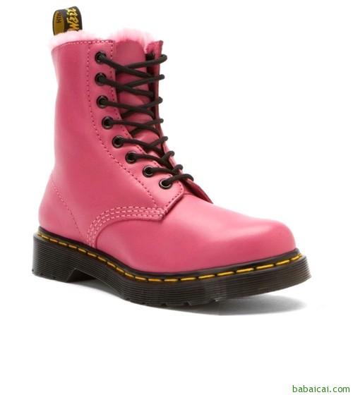 Dr. Martens 女士保暖马丁靴 $76.5($95.63 鞋服8折)