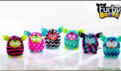 历史新低大白菜!Furby Boom2013新款菲比精灵电子宠物玩具特价$25.99 到手¥210 国内¥599