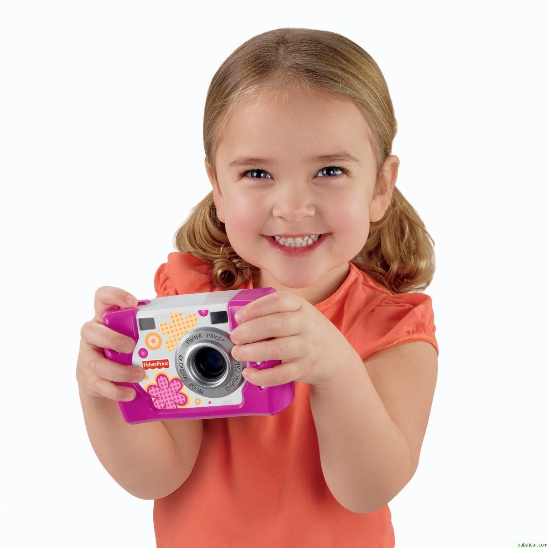 小降!宝宝专用,不怕摔的数码相机!费雪防摔儿童数码相机特价$32.1