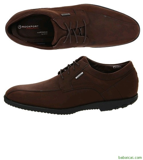 Rockport乐步 Dressport Truwalk男士系带皮鞋$63.21