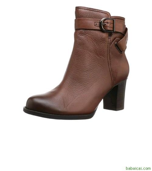 Clarks Jolissa Topaz Boot 其乐女款真皮踝靴 $55($68.97*0.8)