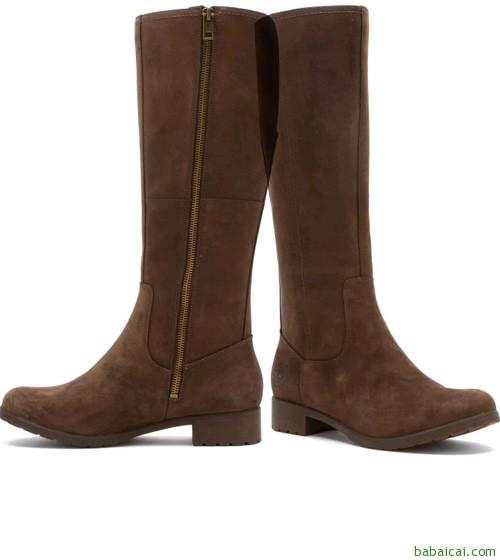 Timberland 防水真皮女靴 $59.18($73.98 鞋服8折)