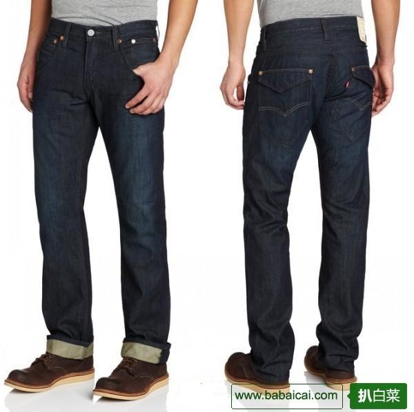 Levi's 李维斯 514 男士直筒牛仔裤特价$24.29 鞋服新人8折后$19.43