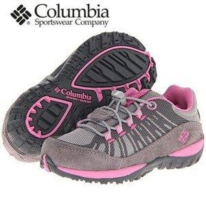 惊爆价!Columbia哥伦比亚女童户外运动鞋$19.99 有成人39码!大白菜啊