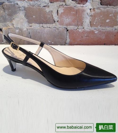 Cole Haan 可汗 女士中跟尖头正装皮鞋 3.9折 $57.94