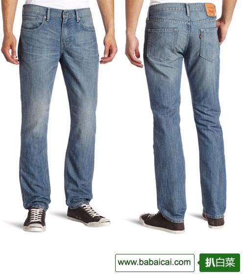 Levi's 李维斯 511系列男士修身牛仔裤 $19.79