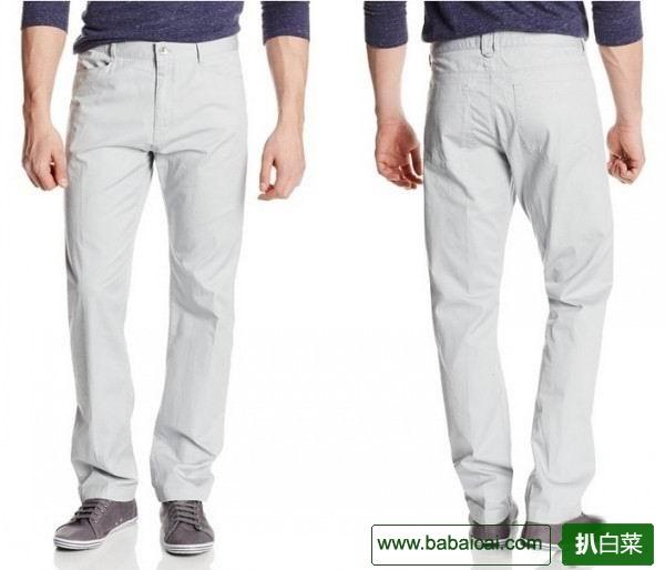 白菜~Calvin Klein男士纯棉休闲裤原价$80 现$29.5