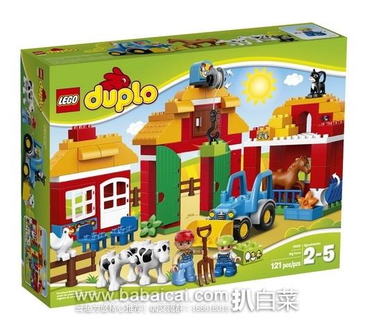 LEGO乐高 10525 DUPLO得宝主题系列 大型农场 原价$60,现$35.99,用券8折实付$36.78