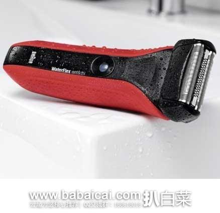日本亚马逊:BRAUN 博朗 WF2s 了干湿双模剃须设计水感电动剃须刀 好价5945日元(¥369)