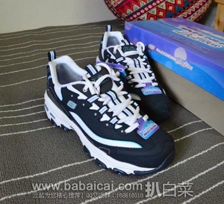 6PM:Skechers Extreme 斯凯奇 女款 明星款运动潮鞋(内增高) 原价$55,现特价$37.99,到手¥320