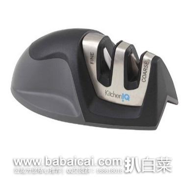 亚马逊海外购:销量第一,KitchenIQ 50009 便携磨刀器 特价¥41.49,凑单直邮免运费,含税到手约¥47