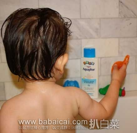 亚马逊海外购:Aquaphor 优色林 宝宝温和抗敏洗发液/沐浴露洗护二合一 250ml*3瓶 降至¥74.56,凑单直邮免运费,含税到手新低¥83