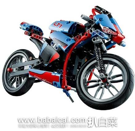 日本亚马逊:Lego 乐高 机械组 街头摩托赛车 玩具 42036 (共含375颗粒)  现3899日元(¥236)