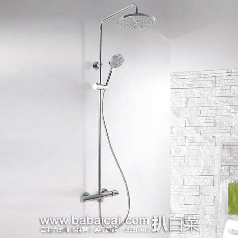 亚马逊中国:ENZORODI 德国安住 二出水全铜主体恒温淋浴花洒柱 原价¥2498