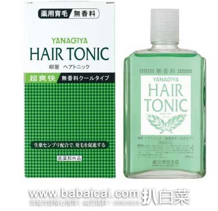 日本亚马逊: YANAGIYA柳屋 药用生发养发精华液 240ml 特价662日元(¥41)