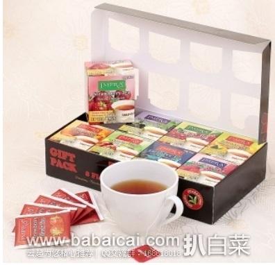 顺丰优选:买一送一哦!英伯伦IMPRA 锡兰礼盒装红茶2g*10袋*8盒/盒*2特价¥99包邮