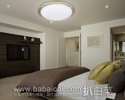 亚马逊中国:双重优惠!Panasonic 松下 HHLA1521 卧室吸顶灯 原价¥499,现秒杀¥299-20=¥279