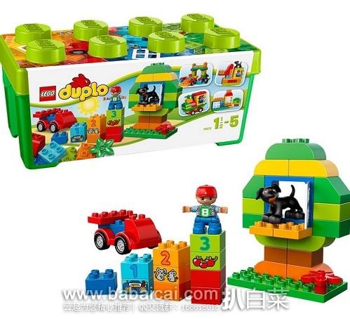 LEGO 乐高 10572 得宝创意拼砌系列 多合一趣味桶 原价$30,现历史低价$17.99,到手约¥199