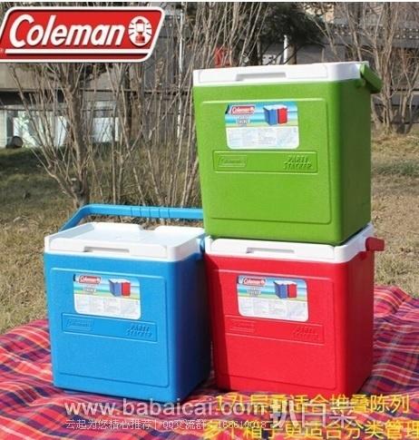 亚马逊中国:Coleman 科勒曼 26升层叠式保温箱+冷媒 原价¥499,限时秒杀价¥219包邮