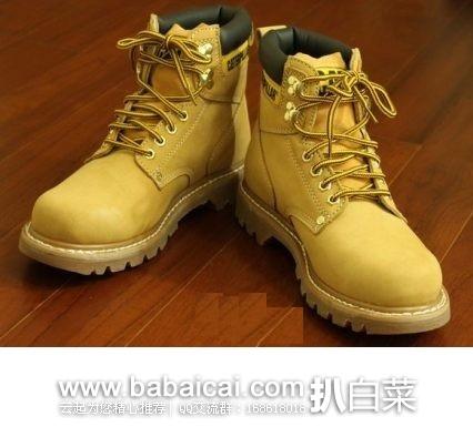 Amazon:Caterpillar 卡特彼勒 经典款6寸工装靴  降至$53.56