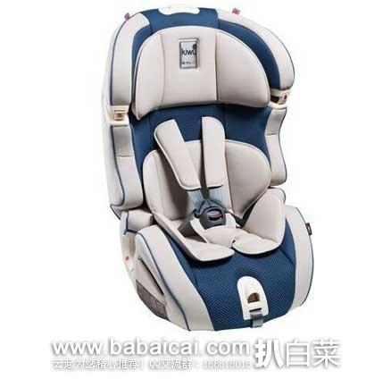 Windeln:意大利 Kiwy 无敌浩克系列 SLF123 Q-Fix 儿童汽车安全座椅  现特价143.05€