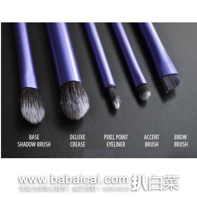 iHerb:Real Techniques 眼部化妆刷六件套 现$19.99,单件就直邮包邮,免税到手¥139