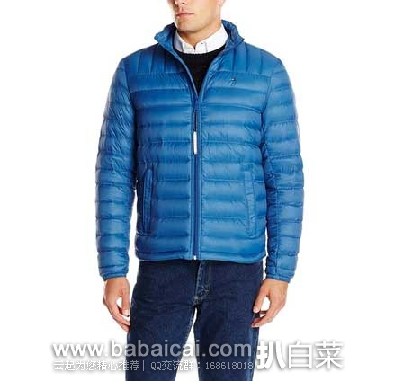 Tommy Hilfiger 汤米·希尔费格 Packable Down Jacket男士压缩羽绒服 原价$195,现$52.49,用码减$8.62,实付新低$43.86,到手约¥365