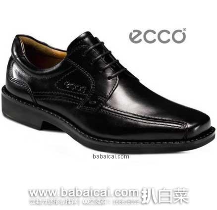 亚马逊海外购:Ecco 爱步 New Jersey新泽西 商务正装男鞋 两色 现¥550.83起,直邮免运费,含税到手仅¥557起