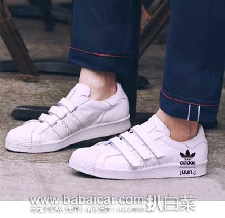 sale retailer 5e0d6 282a4 6PM: adidas by Juun. J Superstar 80s 阿迪达斯贝壳头运动板鞋 ...