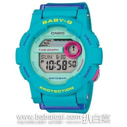 日本亚马逊:Casio 卡西欧 BGD-180FB-2JF 时尚高级多功能石英表女表 原价12960日元,现8160日元(¥474),还返370个日亚积分