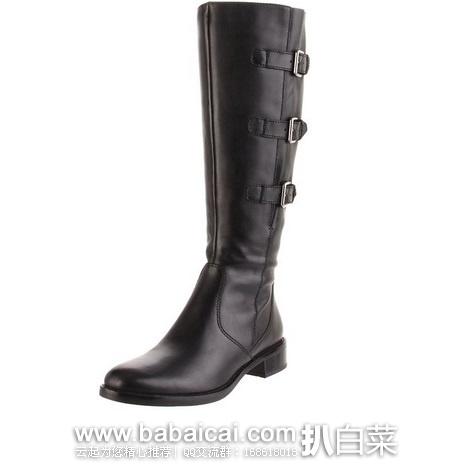 ECCO 爱步 霍巴特 女士平底真皮长靴 原价$200,现$92.38,到手约¥788, 国内¥3399