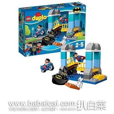 LEGO 乐高 10599 得宝系列 蝙蝠侠大冒险 原价$40,现$31.99,用券8折新低$25.59,到手仅¥235