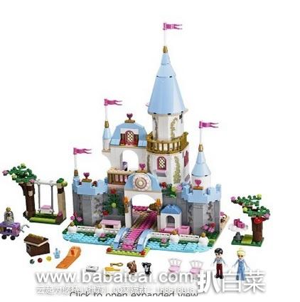 LEGO 乐高41055 迪斯尼公主系列 灰姑娘的浪漫城堡 原价$70,现历史新低$45.59,到手约¥380