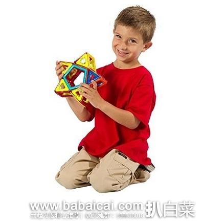 亚马逊中国:精选 多款 Magformers 磁力片 玩具特价促销,用券65折还叠加¥99减¥5,折后超划算!!