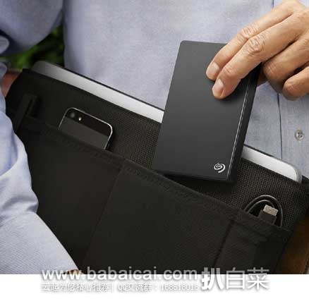 亚马逊海外购:Seagate 希捷 睿品 2.5英寸 USB3.0移动硬盘2T 现特价¥422.14,直邮免运费,含税到手约¥469
