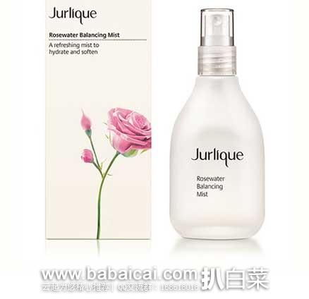 Lookfantastic:Jurlique茱莉蔻 玫瑰衡肤花卉水 100ml 特价£24,用码8折实付£16.8,凑单直邮包邮到手约¥291